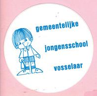 Sticker - Gemeentelijke Jongensschool Vosselaar - Autocollants