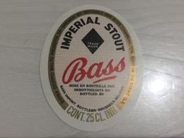 Ancienne Étiquette 1.1 BIÈRE ÉTRANGÈRE IMPÉRIAL STOUT BASS PALE ALE BURTON ON TRENT BELGIUM - Beer