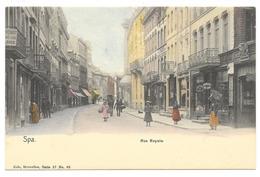 Spa  Nels  Sér 27  Num 68  Coul  Rue Royale - Spa