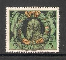006760 Bavaria 1911 5pf FU - Bavière