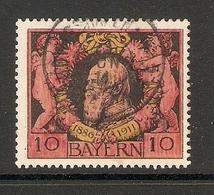 006761 Bavaria 1911 10pf FU - Bavière