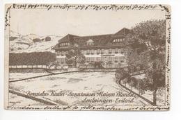 Litho LEUBRINGEN-EVILARD Sanatorium - BE Berne