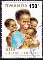Ruanda - Kinder Aus Dem SOS-Kinderdorf Kigali (Mi.Nr.: 1110) 1981 - Gest Used Obl - 1980-89: Used