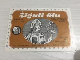 Ancienne Étiquette 1.1 BIÈRE ÉTRANGÈRE ZIGULI ÕLA - Bière