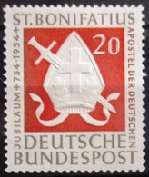 ALLEMAGNE FEDERALE                 N° 75              NEUF** - Unused Stamps