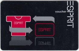 Gift Card A-273 Austria - Esprit / Fashion - Used - Gift Cards