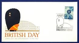 1967 Covers, British Day, Amsterdam, Netherlands, Nederland, Holland - 1949-1980 (Juliana)