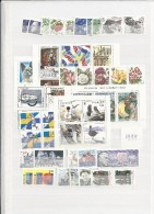 1994 MNH Sweden, Year Collection Postfris - Svezia
