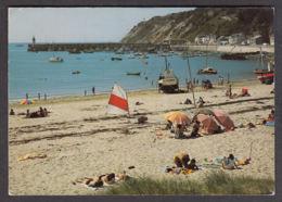 70489/ ERQUY, Les Falaises Du Cap D'Erquy, La Plage, La Port Et Le Môle - Erquy