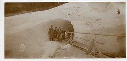 Homme Femme Montagne Grotte Mer De Glace à Situer 1910 Lot 2 Photos Caverne Trou Mountain - Places