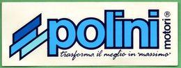POLINI MOTORI * MOTO AUTO RALLYE RACING * AUTOCOLLANT A1685 * - Autocollants