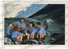 Scout Scouts Agesci - Luna Moon Spazio Space Chitarra Guitar - Scoutisme