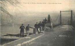 TRIEL SUR SEINE CRUE DE SEINE 1910 UN COIN DU PORT - Triel Sur Seine
