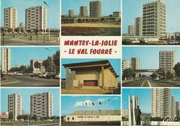Rare Cpsm Mantes La Jolie Le Val Fourré - Mantes La Jolie