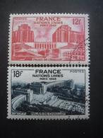 FRANCE N°818 Et 819 Oblitérés - France
