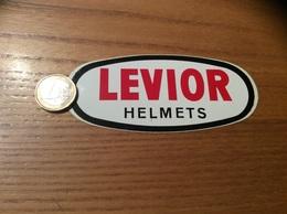 """AUTOCOLLANT, Sticker """"LEVIOR HELMETS"""" (casque Moto, Vélo) - Autocollants"""