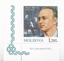 2019 , Moldova  Moldavie  Moldawien  Moldau  , Alexei Starcea - Composer, Singer, Teacher, Art , Music , 1 V., MNH - Moldova