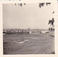 Foto Schiffe Auf Dem Rhein - Frachter Dampfer - Ca. 1940 - 5,5*5,5cm (38744) - Bateaux