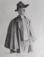 Illustrations De Louis SABATTIER  M BRIEUX 1910 - Old Paper