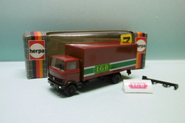 Herpa - CAMION MERCEDES BENZ LGB Réf. 814392 Neuf NBO HO 1/87 - Véhicules Routiers