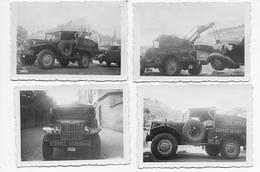 Garage Lecomte Dinant Dépanneuse Chevrolet Lot De 4 Photos 9x6 - Automobiles