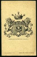 D'Hertauld De Beaufort - Armorial General Sur C. P. I. - Non Viaggiata - Rif.  Ad647 - Généalogie
