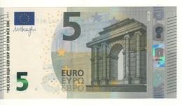 """5 EURO  """"Spain""""      DRAGHI    V 004 B3     VA6489225857      /  FDS - UNC - EURO"""