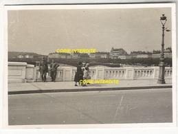 WW2 PHOTO ORIGINALE Soldats Allemands à LYON Pont Sur Le RHÔNE - 1939-45