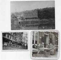 Waulsort Le Grand Hôtel Lot De 3 Photos - Lieux