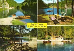 Saluti Dal Lago Di Fondo M. 987 - Italia