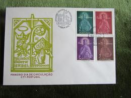 Portugal 1958 FDC Rainha Santa Isabel São Teotonio - FDC