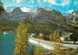 Dolomiti: Lago Di Fedaia M. 2040 Verso La Marmolada M. 3342 - Italia