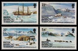 BAT / Brit. Antarktis 1985 - Mi-Nr. 124-127 ** - MNH - Graham-Land - Timbres