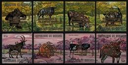 Burundi 1971 - Mi-Nr. 774-781 ** - MNH - Wildtiere / Wild Animals - Burundi