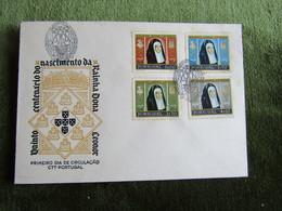 Portugal 1958 FDC Quinto Centenário Do Nascimento Da Rainha Dona Leonor - FDC