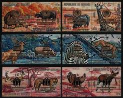 Burundi 1971 - Mi-Nr. 762-773 ** - MNH - Wildtiere / Wild Animals - Burundi