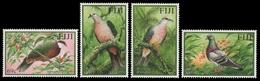 Fidschi 2001 - Mi-Nr. 970-973 ** - MNH - Vögel / Birds - Fiji (1970-...)