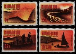 Niuafo'ou-Insel 1983 - Mi-Nr. 23-26 ** - MNH - Vulkanausbruch - Timbres