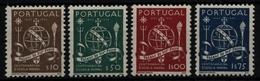 Portugal 1945 - Mi-Nr. 689-692 ** - MNH - Marineschule - 1910-... République