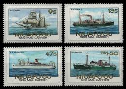 Niuafo'ou-Insel 1985 - Mi-Nr. 57-60 B ** - MNH - Schiffe / Ships - Timbres