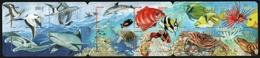 Franz. Polynesien 2011 - Mi-Nr. 1160-1171 ** - MNH - Heftchen - Fische / Fish - Carnets