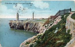 CPSM Gibraltar Europa Point And Light House - Gibraltar