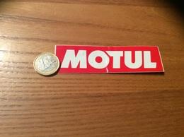 """AUTOCOLLANT, Sticker """"MOTUL"""" (huile, Oil, Automobile) - Autocollants"""