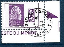 France 2019. Marianne Pour L'International.Cachet Rond. - France