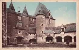 Dep 41 , Cpa FOUGERES Sur BIEVRE  , Le Chateau , Cour Intérieure (3709) - France