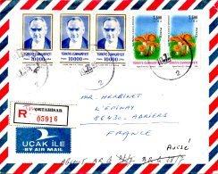 TURQUIE. N°2782 De 1994 Sur Enveloppe Ayant Circulé. Champignon/Atatürk. - Champignons