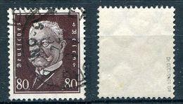 D. Reich Michel-Nr. 422 Gestempelt - Geprüft - Allemagne