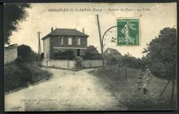 Neufles-St-Martin - Entrée DuPays - La Cote - Viaggiata 1924 - Rif.  05267 - Altri Comuni