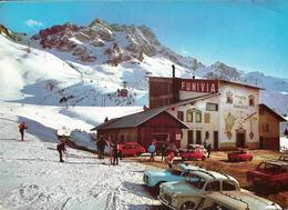 Passo Del Tonale M. 1884 - Partenza Funivia Al Passo Paradiso M. 1884-2580 - Italia