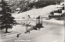 Rare Cpsm Alpe Du Grand Serre Le Remonte Pente De Lhotel Du Grand Serre - France